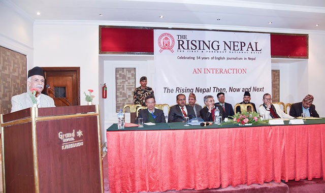 The Rising Nepal An Interaction